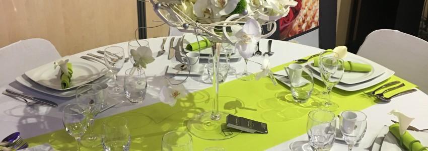 Menus servis à table
