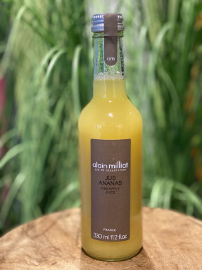 Jus de dégustation Alain Milliat - Ananas 33cl