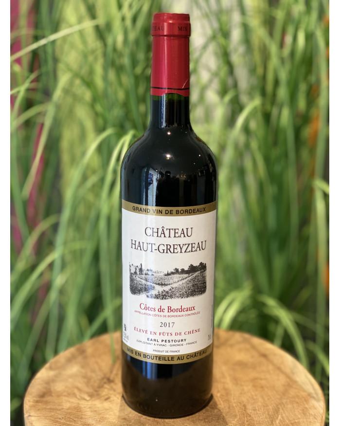 Côtes de Bordeaux Château Haut-Greyzeau 2016 - Isabelle et Bertrand Pestoury